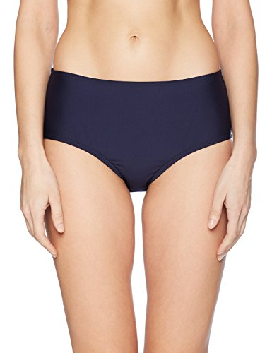 Calvin Klein Bottoms - Calvin Klein Women's Classic Mid Rise Bottom with Tummy Control, Navy, Small