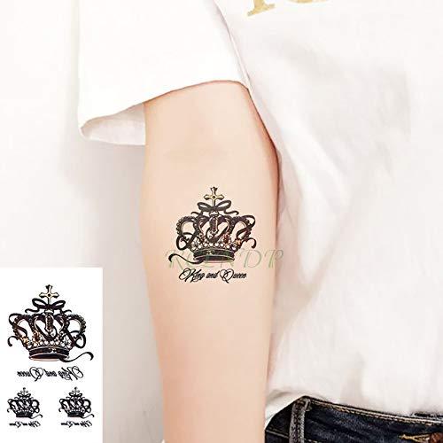 ljmljm 5pcs Impermeable del Tatuaje Pegatinas Lotus Totem ...