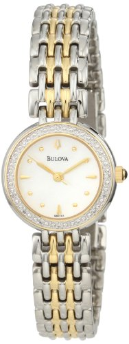 Bulova Women's 98R151 Diamond Petite Classic Watch ()