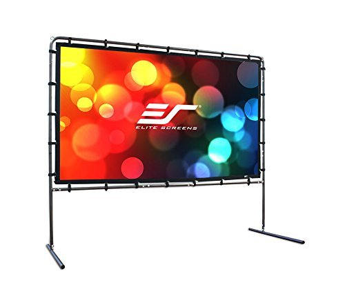 aster Series, 103-Inch 16:9, Outdoor Portable Projection Movie Screen, OMS103HR ()