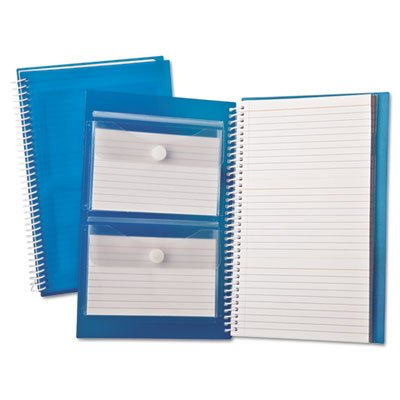 Index Card Notebook, Ruled, 3 x 5, White, 150 Cards per Notebook, Sold as 1 Each by Oxford