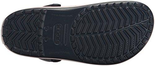 Crocs Crocband Clog, Zuecos con Correa, Unisex Azul (Navy)