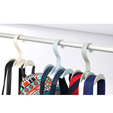 MJ Handbag Closet Space saving Organizer Hooker Pack of 5
