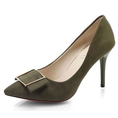 RTRY Zapatillas De Mujer &Amp; Flip-Flops Verano Confort Casual Pu Chunky Heelblack Caminar Blanco US6 / EU36 / UK4 / CN36