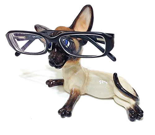 Siamese Cat Lovers Novelty Eyeglass Holder Stand by Distinctive Designs