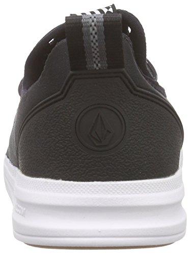 Volcom Draft Shoe - Zapatillas de skate Hombre Negro - Schwarz (Black Combo BLC)