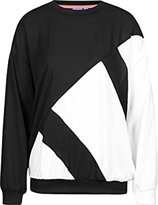 Adidas Originals EQT Sweatshirt White MD at Amazon Women's