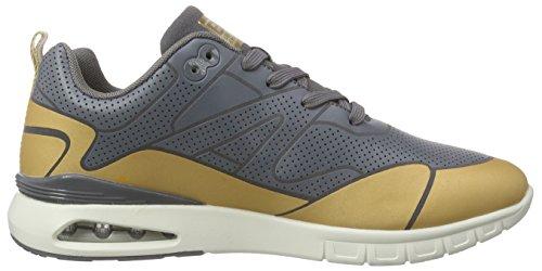 British Knights Demon Herren Sneakers Grau (DK Grey-Cognac 22)