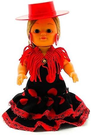 Amazon.es: Folk Artesanía Muñeca artesana de 15 cm con Vestido ...