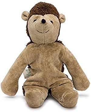 Senger Stuffed Animals - Hedgehog - Handmade 100% Organic Toy (Beige - 12 Inches Tall)