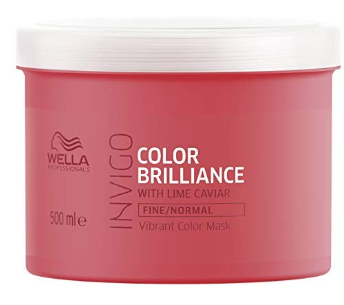 Wella Brilliance Mask Fine/Normal Hair 500 ml