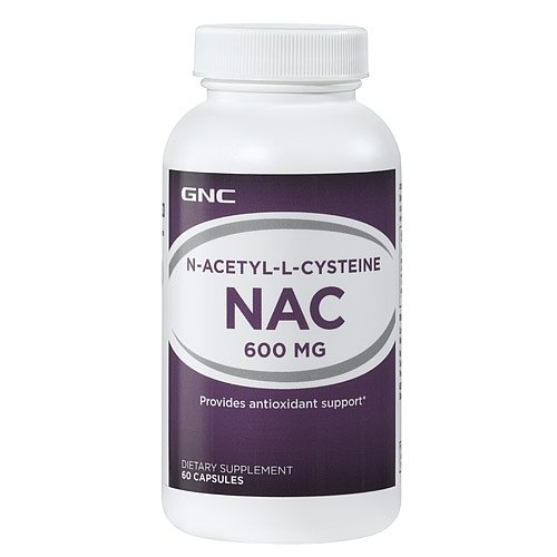 GNC NAcetylLCysteine NAC 600 mg 60 - Caps 600 Nac Mg 60