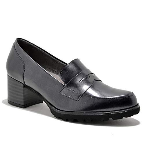 Negro 1390 Pitillos Zapato Nº38 Tacón q6pSnCxwOx