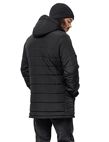 Men Jack jacket 2018 winter Black black Svalbard Jacket Wolfskin wOCqHvO