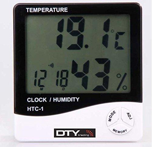 469 opinioni per DTY Trading Termometro digitale LCD, temperatura e umidità