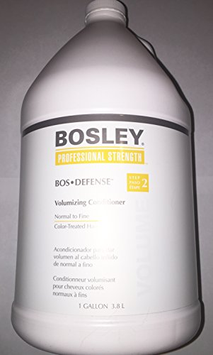 Bosley Bos Defense Volumizing Conditioner for Color Treated Hair, 128 Ounce