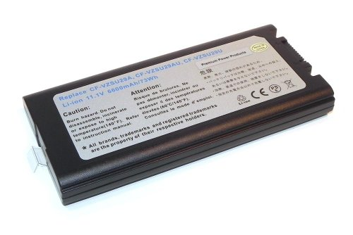 Compatible Battery 7200 mAh CF-VZSU29U for use with Panasonic Laptops by PREMIUM POWER