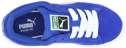PUMA Suede Jr Classic Kinder Sneaker (kleines Kind / großes Kind) Schnorchel Blau / Weiß
