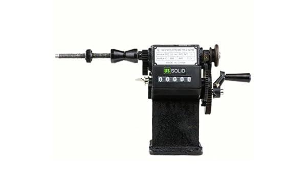 Doble Uso eléctrico/manual Bobina bobinado máquina w/contador de tiempo de Estados Unidos sólido: Amazon.es: Amazon.es