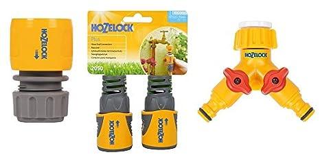 Hozelock Manguera Final Conector Pro 12.5mm y 15mm