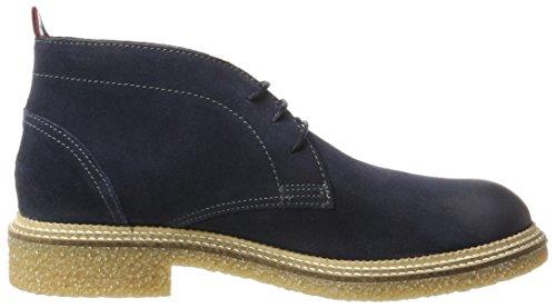 Hilfiger Denim J2385ustin 2b, Stivali Desert Boots Uomo Nero (Ink)