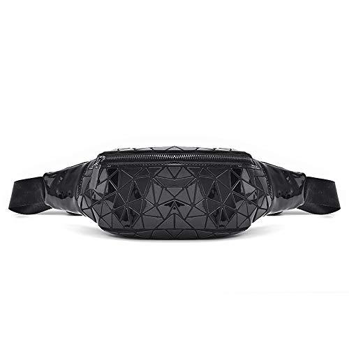 Sac Géométrique à Pochettes WDBAO Pochette Femme Sport Outdoor Main Fashion Black Lingge 8SpqOnxpt