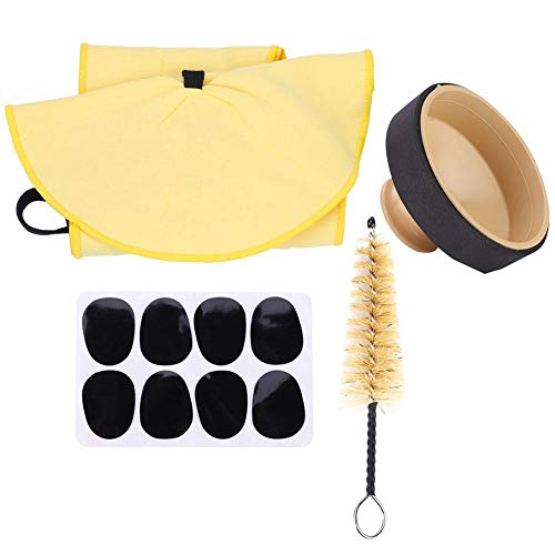 SLADE 4 In 1 Mute Pads Brush Cleaning Cloth for Alto Saxophone Kits