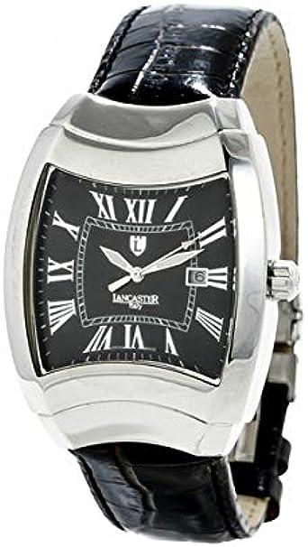 Lancaster Reloj Analog-Digital para Mens de Automatic con Correa en Cloth S0328540: Amazon.es: Relojes
