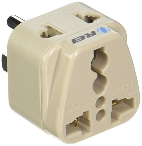 Type B - OREI Grounded 2 in 1 Plug Adapter - USA, Japan, Can