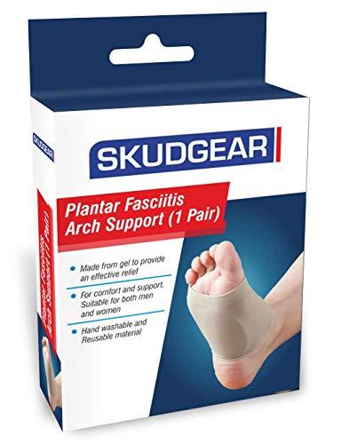 Skudgear Foot Care Plantar Fasciitis Arch Support Sleeve Cushion Heel Spurs Neuromas Flat Feet Orthopedic Pad Orthotic…
