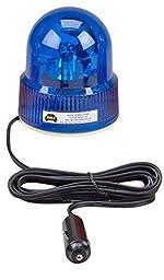 Wolo (3105-B) Beacon Light Rotating Emergency Warning Light - 12 Volt, Blue Lens