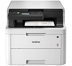 The reliable, robust Brother HL L3290CDW compact digital color printer with copying and scanning capabilities is a great choice for the busy home or small office looking for laser printer performance. Easily and affordably add color to your p...