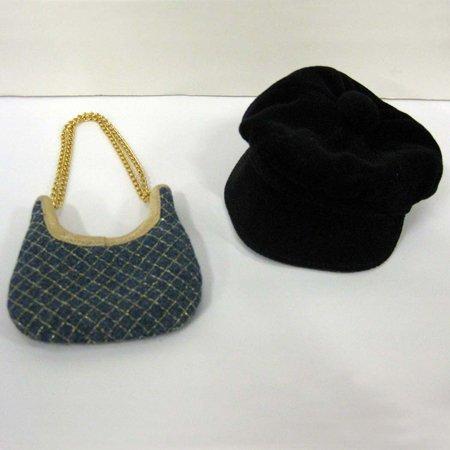 Ashton Drake Delilah Noir Doll Hat and Purse Accessory Pack