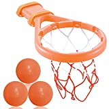 3 Bees & Me Bath Toy Basketball Hoop & Balls Set for Boys and Girls - Kid & Toddler Bath Toys Gift Set