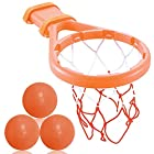 3 Bees & Me Bath Toy Basketball Hoop & Balls Set for Boys and Girls – Kid & Toddler Bath Toys Gift Set