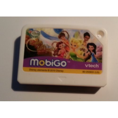MobiGo Software Cartidge - Fairies Explore your Talents - (V-tech Gadget)