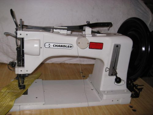 CHANDLER Model 767, Walking Foot, Large Shuttle Hook, Industrial Sewing Machine
