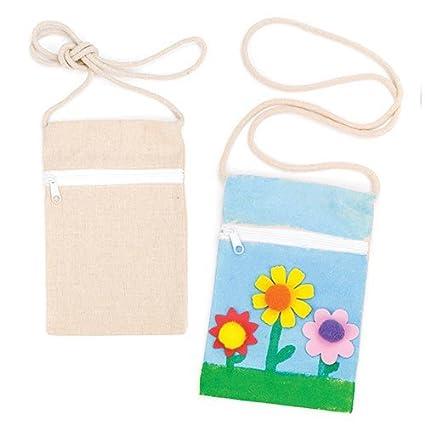 Amazon.com: Baker Ross - Bolsas de hombro para pintar ...
