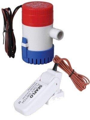 12 Volt 750 GPH elektrische Bilgepumpe mit Schwimmerschalter von ...