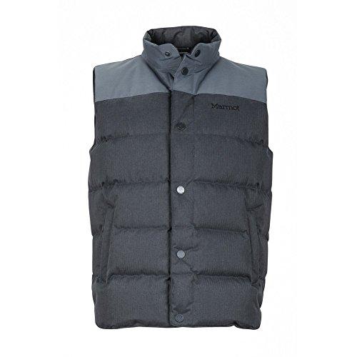 Marmot Fordham Steel Onyx XL Mens Vest -  71830-1515