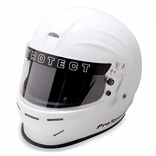 Pyrotect 8060995 XS White ProSport Duckbill Full Face - SA2010