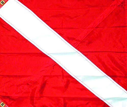 (Seasense Nylon Diver Down 3 Tier Flag, 20-Inch X 24-Inch)