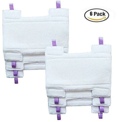 6 Microfiber Replacement Pads - 5