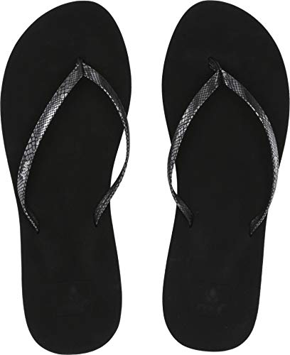 (Reef Bliss Nights Womens Sandal Silver Snake)