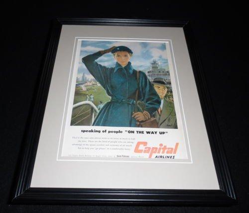 Original 1951 Framed Advertisement - 6