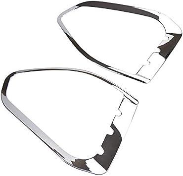 Fits for Ford Escape Kuga 2013-2016 Chrome Door Side Mirror Rain Snow Guard Visor Trim Bezel Shade Cover Garnish Frame