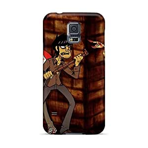 InesWeldon Samsung Galaxy S5 Excellent Cell-phone Hard Cover Provide Private Custom Vivid Gorillaz Band Pattern [bQO2580PSMd]