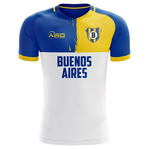 Airosportswear 2019-2020 Boca Juniors Away Concept Football Soccer T-Shirt Jersey - Womens