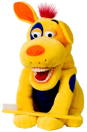Amazon Com Oral Health Presentation Puppet Ollie Mutt Educational