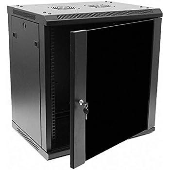 Amazon.com: Tripp Lite 12U Rack Enclosure Server Cabinet, Mid ...